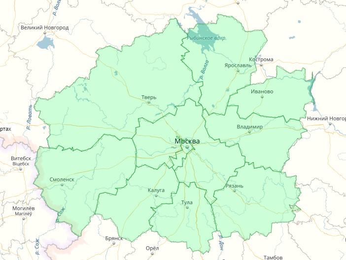 География услуг «Эко-столица»