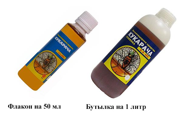 Тара средства от тараканов «Кукарача»