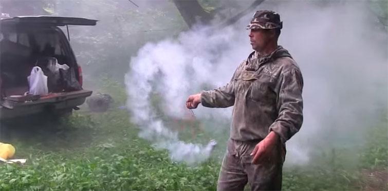 Дым от дымовой шашки