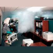 Обработка горячим туманом помещения