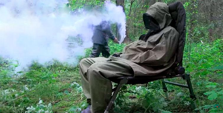 Активированная дымовая шашка