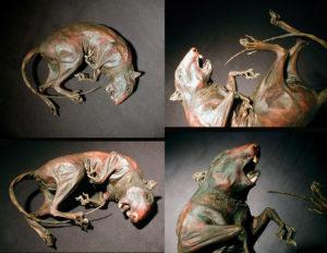 Мумия крысы