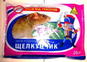 """Крысиный яд """"Щелкунчик"""""""