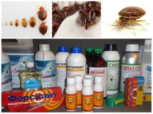 Химические средства от клопов