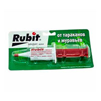 Гель Rubit Зиндан для уничтожения тараканов и муравьев