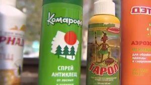 Химические средства для защиты от укуса энцефалитного клеща