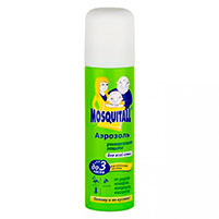 Аэрозоль от комаров Mosquitall профессиональная защита