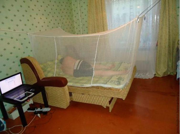 Марлевая сетка от комаров