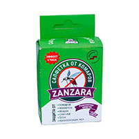 Салфетки от комаров Zanzara