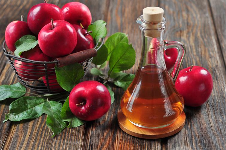 Яблочный уксус против блох