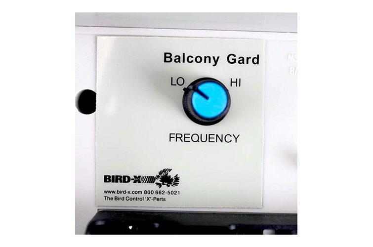 Панель управления Bird-X Balcony Gard