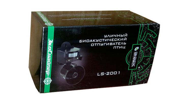 Упаковка биоакустического отпугивателя ЭкоСнайпер ls 2001