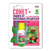 Препарат Сонет от колорадского жука