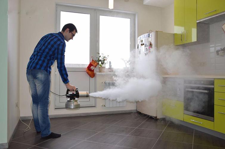 Как работает генератор сухого тумана