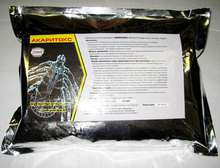 Акаритокс - средство борьбы с насекомыми