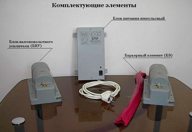 Охранно-защитная дератизационная система (Комплектация)
