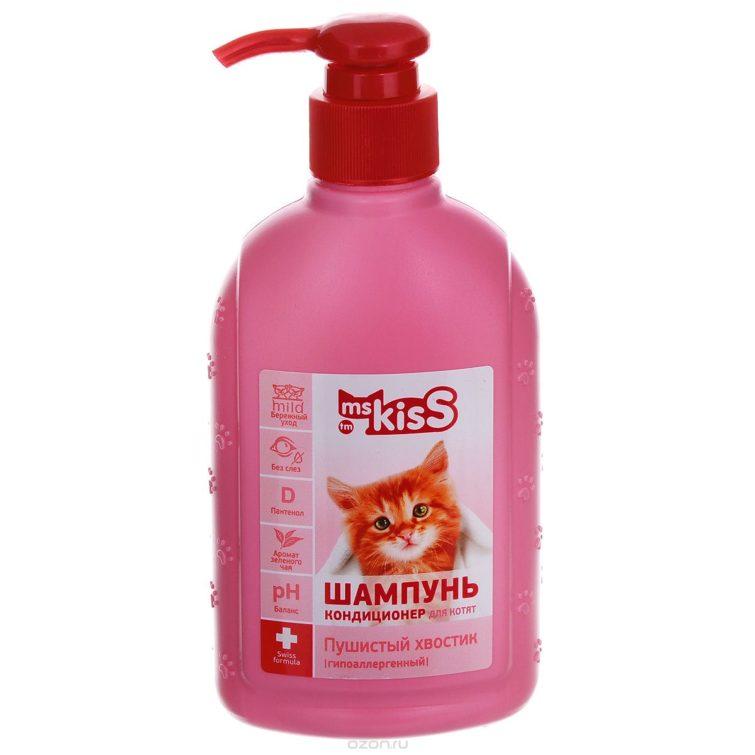 Шампунь Ms Kiss для кошек