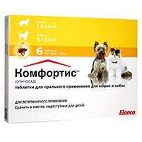 Таблетки от блох для кошек Комфортис