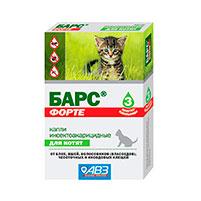 Капли от блох для кошек Барс