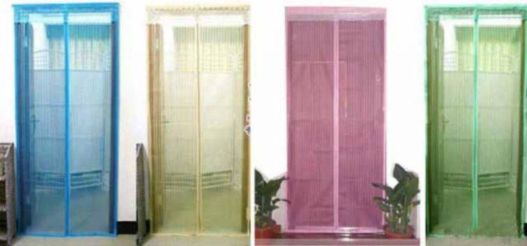 Антимоскитная дверная сетка-штора