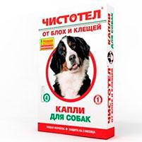 Капли от блох для собак Чистотел