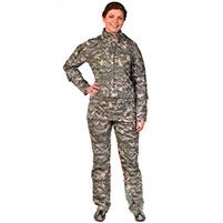 Женский противоэнцефалитный костюм Биостоп - Премиум, зеленый камуфляж