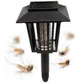 Как работают уличные лампы от комаров