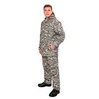 Мужской противоэнцефалитный костюм Биостоп - Оптимум, цвет - зеленый камуфляж