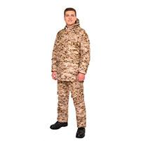 Мужской противоэнцефалитный костюм Биостоп - Оптимум, цвет - песочный камуфляж