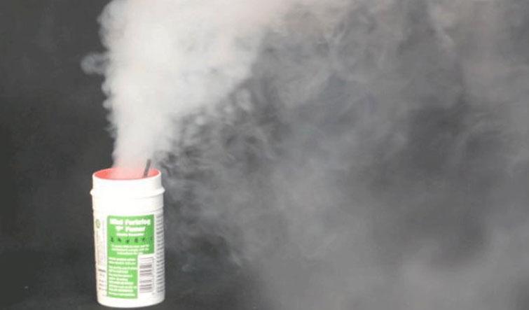 Принцип действия дымовых шашек от тараканов