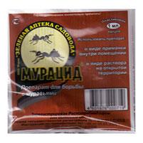 Мурацид - инсектицид для борьбы с муравьям