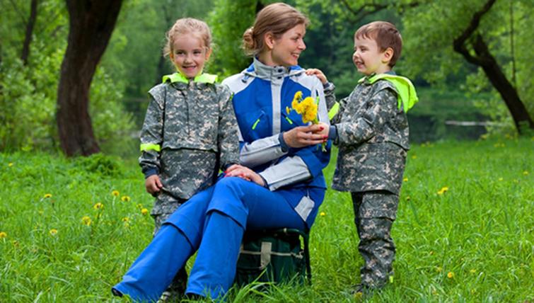 Защитные костюмы для женщин и детей