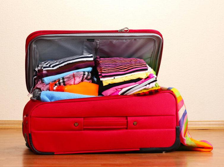 Посылки, чемоданы с поездок