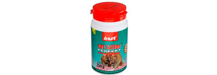 Отрава для грызунов Best с мумифицирующим эффектом (туба 250 г)
