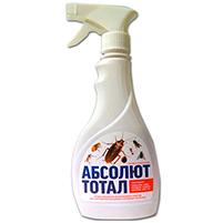 Абсолют Тотал спрей от насекомых: норма расхода и отзывы