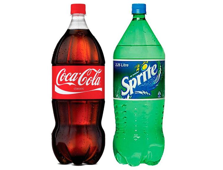 Спрайт и кока-кола