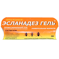 Эсланадез гель от насекомых: инструкция по применению и отзывы