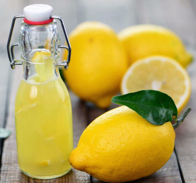 Кипячение с соком лимонов