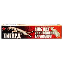 Тигард гель от тараканов: инструкция по применению и отзывы