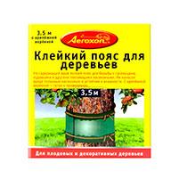 Клейкий пояс для садовых деревьев Aeroxon (3.5 м): инструкция по применению