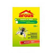 Готовая приманка от мух Argus (15 гр): инструкция по применению и отзывы