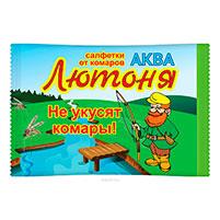 Аква-салфетка от комаров Лютоня: отзывы о средстве