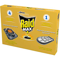 Средство от тараканов Raid Max (4 шт): инструкция по применению и отзывы