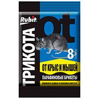 Приманка для вредителей Рубит ТриКота (80 гр): инструкция по применению и отзывы
