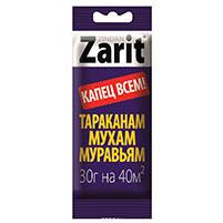 Гель от тараканов и муравьев Зиндан Зарит (30 гр): инструкция по применению и отзывы