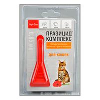 Празицид-Комплекс капли на холку от блох для кошек: инструкция по применению и отзывы