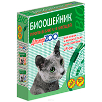 Доктор ZOO ошейник от блох и клещей для кошек (35 см): инструкция по применению и отзывы