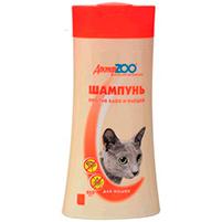Шампунь Доктор ЗОО от блох и клещей для кошек: инструкция по применению и отзывы