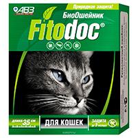 Фитодок репеллентный ошейник для кошек (35 см): инструкция по применению и отзывы