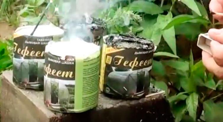 Табачно-дымовая шашка Гефест